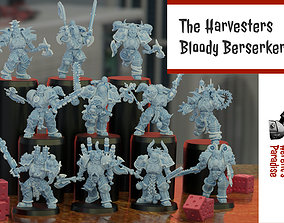 3D print model The Harvesters - Bloody Berserkers