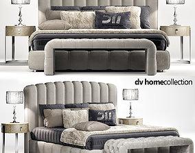 Bed Byron DVhomecollection 3D model bedding