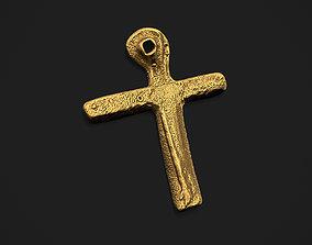 3D printable model Oak Island Cross Pendant