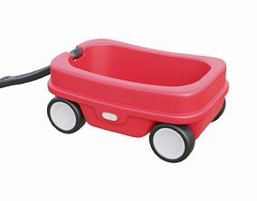 Kids Wagon 3D asset