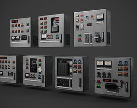 Electric cabinet pack 3D