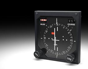 F16 Horizontal Situation Indicator 3D model
