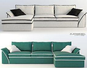 corner sofa Nieri 3D model