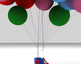 3D Cluster balloons