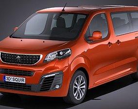 3D model Peugeot Traveller 2017