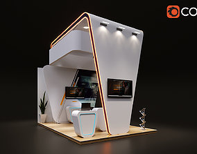 Booth 3d Models Cgtrader