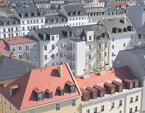 3D City Building Collection - Pack of 22 detailed town
