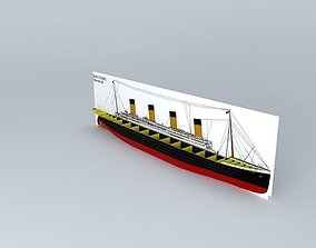 3D model TITANIC Hull Kit Do it Yourself