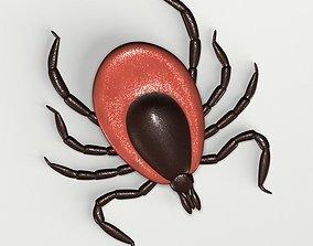 3D model Deer Tick