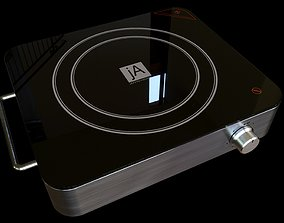 Electric Cooktop 3D