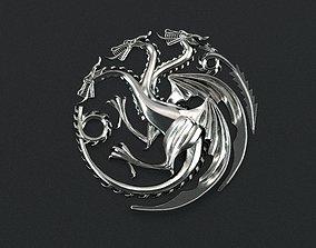 Game of Thrones - House Targaryen 3d print ready