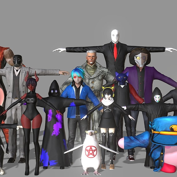 VRChat Commission Family Shot