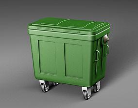 3D hgarbage Dumpster