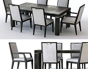 3D Bernhardt Decorage Dining Set