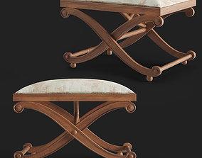 3D Rudolf stool Toledo furniture
