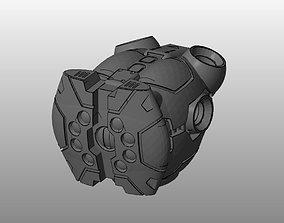 3D printable model CHIBI-TECH SD - BLACKWIDOW CORE