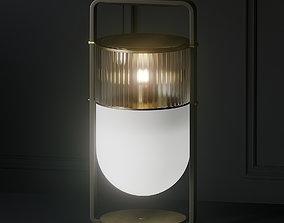 3D model Xi Table Lamp - Poltrona Frau