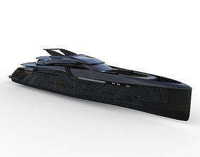 3D Concept Power Yacht