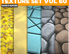 Mix Vol 60 - Game PBR Textures 3D asset