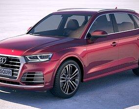 3D Audi Q5L 2019