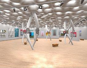 Modern Showroom Expo 3D model