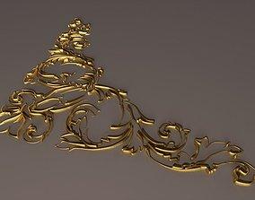 barocco ornament 3D model