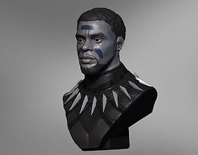 Chadwick Boseman BlackPanther T Challa 3D printable model
