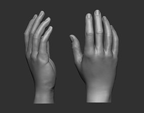 3D print model Female hand pose 1