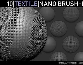 3D model Zbrush - Cloth Damage VDM Brush | CGTrader