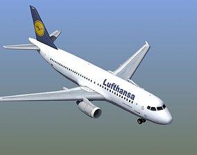 3D model Airbus A320 Jet