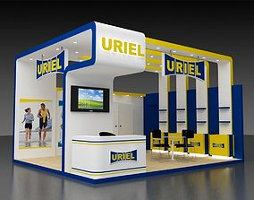store 6x5Mtr Stand 3D