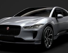 3D model Jaguar I Pace EV400 ADW S 2019