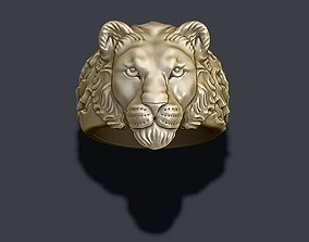3D printable model Lioness ring