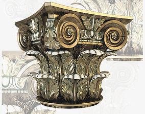 Corinthian Capitol 3D