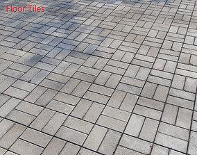 3D model Floor Tiles coating