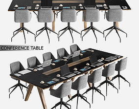 3D model conference table 02