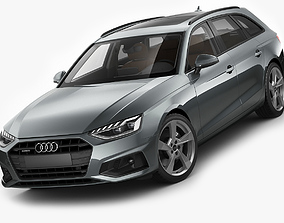 Audi A4 Avant 2020 3D model