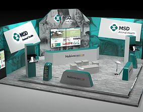 3D model 10x6 stand for pharmaceutics
