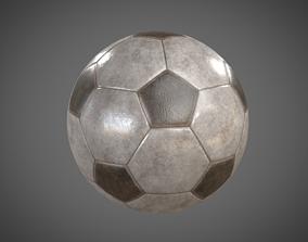 Soccer-Football Ball - PBR Game Ready 3D asset