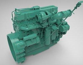 3D Engine Cummins 6 LTA