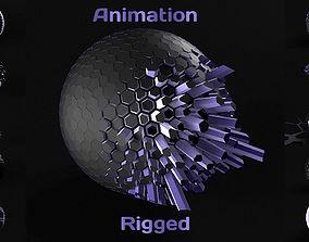 Techno Animation 3D model