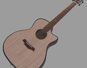3D model Baton Rouge Guitar