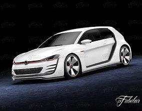 3D model Volkswagen Design Vision GTI
