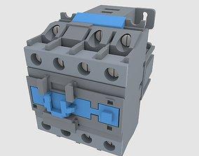 electrical contactor 3D model