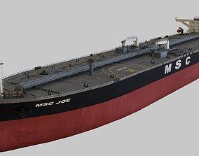 Oil Tanker 3D model cargo-container