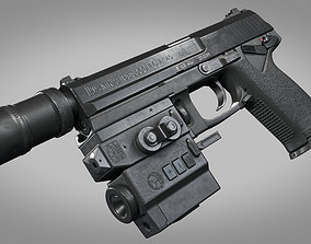 Heckler Koch MK23 USSOCOM 3D asset