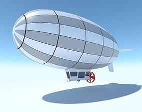 3D model Generic Blimp Stylized LowPoly