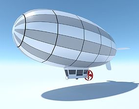 3D model Generic Blimp Stylized LowPoly