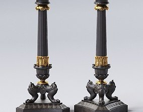 3D model Big Empire Candlestick