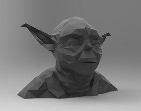 Star Wars Yoda Bust 3D print model